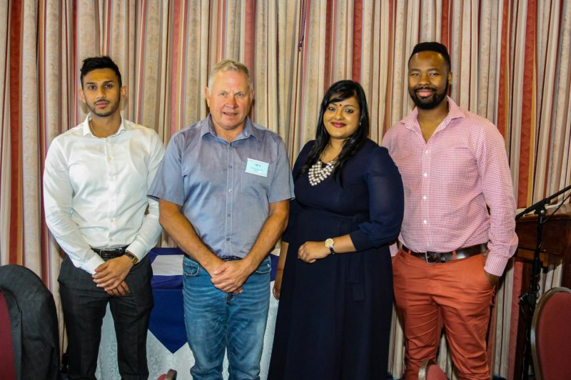 Linsen Nambi at the Institute of Chartered Shipbrokers Annual Prize-Giving & year-end function